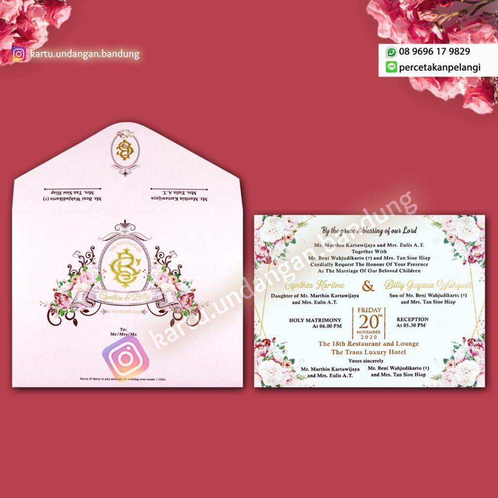 Undangan Pernikahan Tema Castle Cantik