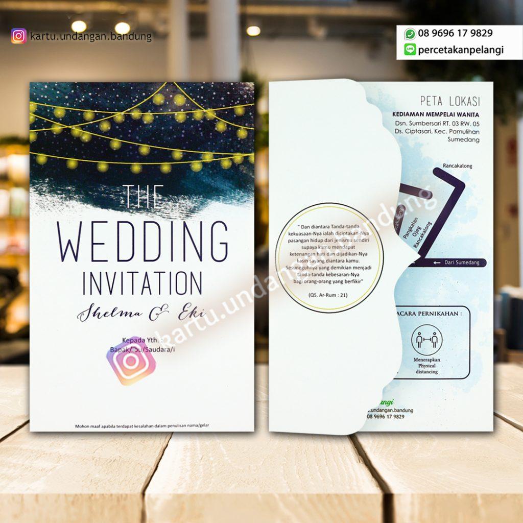 Undangan Pernikahan Design Modern Kekiknian