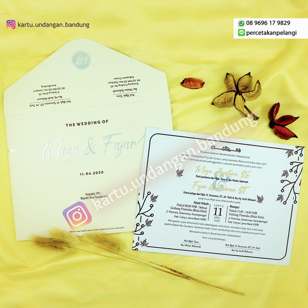 Undangan Pernikahan Minimalis Cantik