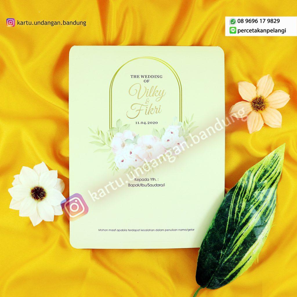 Undangan Pernikahan Fresh Simple