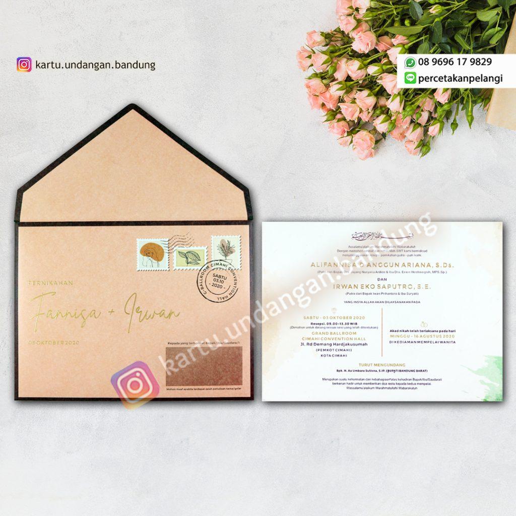 Undangan Design Postcard Artistik