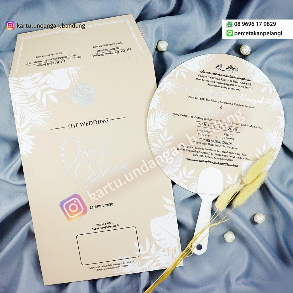 Undangan Pernikahan Best Seller Warna Soft