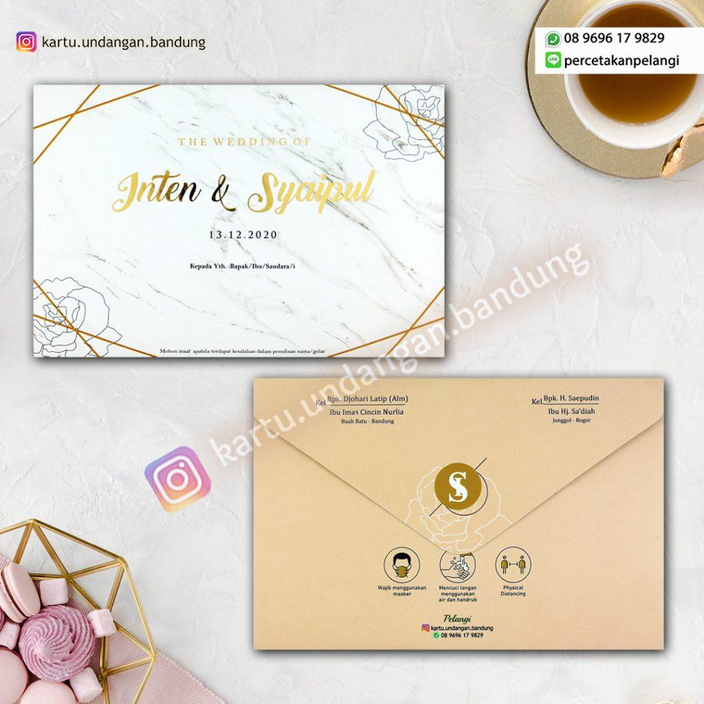 Marble Wedding Invitation Best Seller