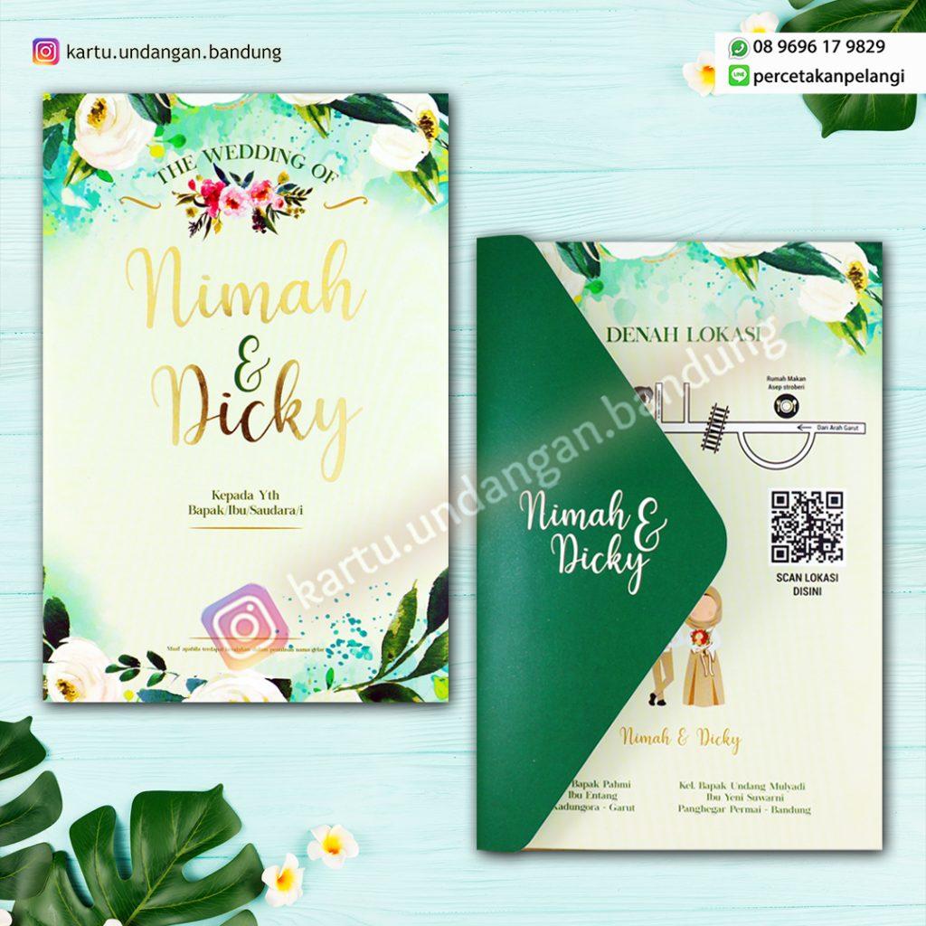 Undangan Pernikahan Design fresh Terbaru