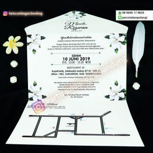 Kartu Undangan Floral Elegan