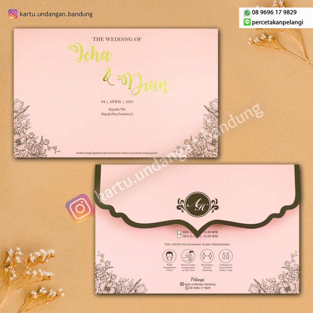 Undangan Elegant Pink