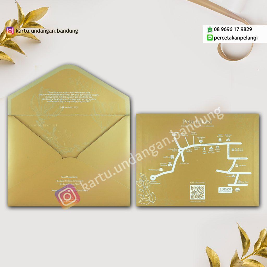 Undangan Luxury Gold