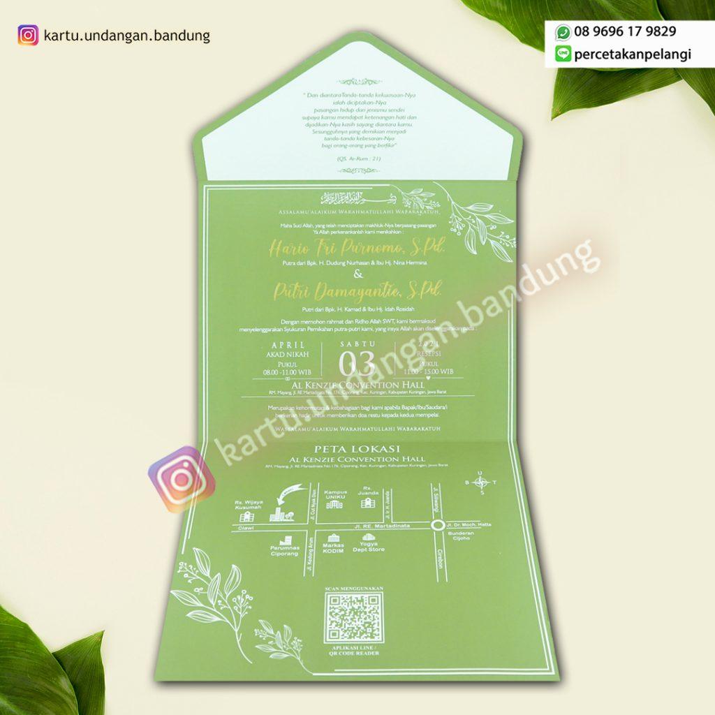 Undangan Green Avocado